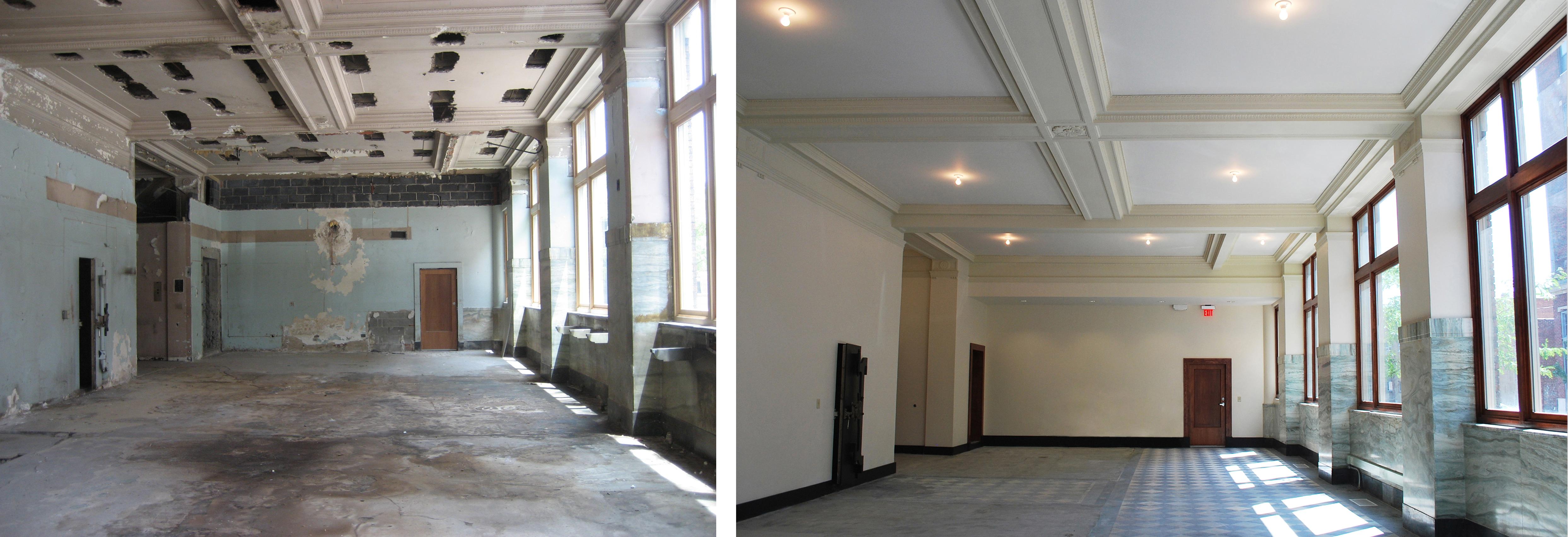 drywall antes e depois porto alegre