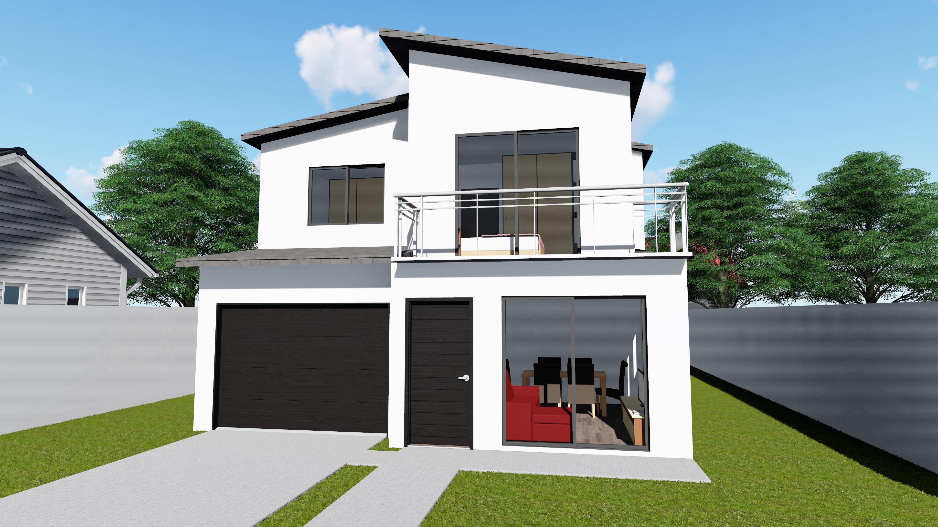 Casas steel frame modelos prontos sulm dulos sistemas for Modelos de techos metalicos para casas