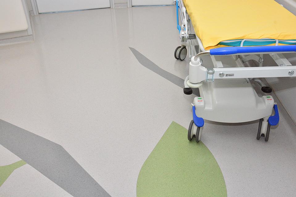 pisos vinilicos para hospitais