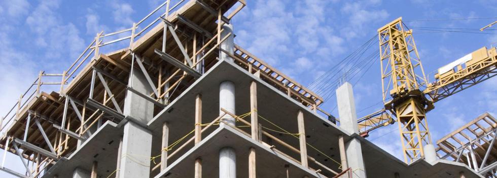 prédio material de construção