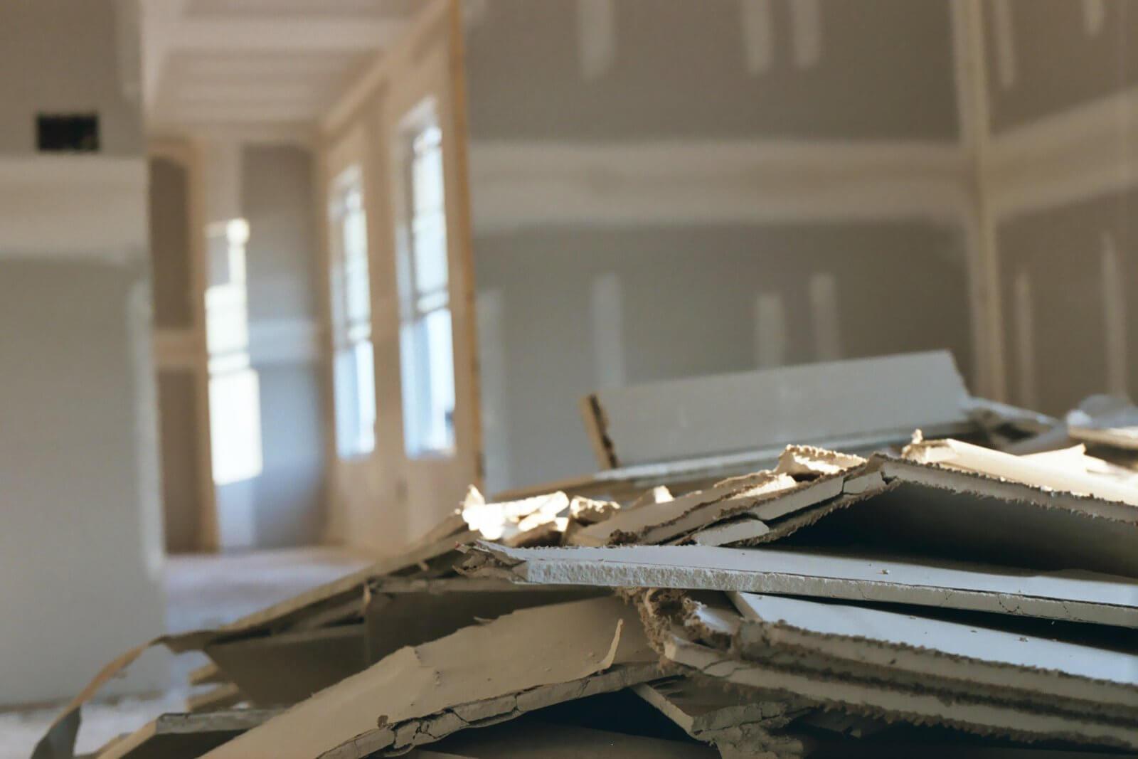 revestimento em drywall