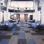Carpetes Comerciais em Placas